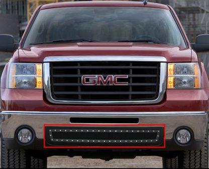 GR07LFD95H 1.8mm Wire Mesh Rivet Style Grille 2007-2013 GMC Sierra 1500