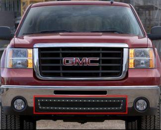 GR07LFD95H 1.8mm Wire Mesh Rivet Style Grille 2007-2010 GMC Sierra 3500 HD
