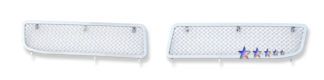 Mesh Grille 2005-2010 Chrysler 300  Lower Bumper Chrome (Fog Lights Full Covered)