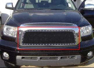 GR20LEA78H 1.8mm Wire Mesh Rivet Style Grille 2007-2009 Toyota Tundra