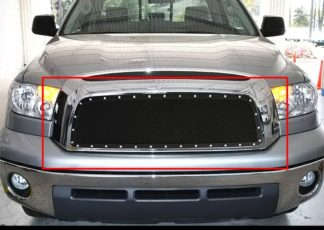 GR20LED64H 1.8mm Wire Mesh Rivet Style Grille 2007-2009 Toyota Tundra