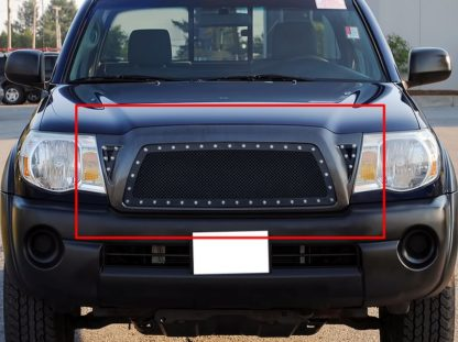 GR20LFD56H 1.8mm Wire Mesh Rivet Style Grille 2005-2010 Toyota Tacoma