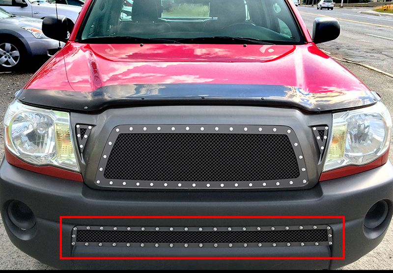 SS 1.8mm Mesh Grille For 2010-2012 Subaru Legacy Bumper