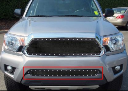 GR20LFI38H 1.8mm Wire Mesh Rivet Style Grille 2012-2015 Toyota Tacoma