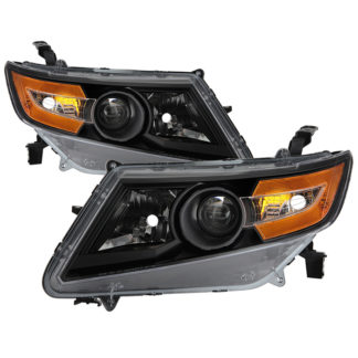 ( xTune ) Honda Odyssey Halogen Models Only 11-15 ( Don't Fit HID models ) OEM Style Headlights - Black