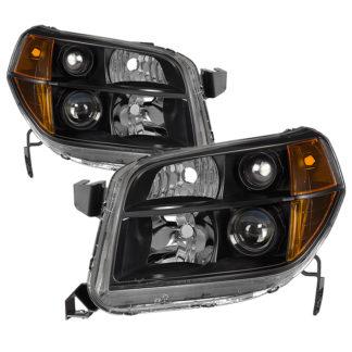 ( xTune ) Honda Pilot 06-08 OEM Style Headlights - Black