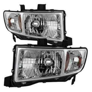 ( OE ) Honda Ridgeline 06-13 Crystal Headlights – Chrome