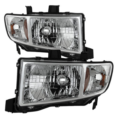 ( OE ) Honda Ridgeline 06-13 Crystal Headlights - Chrome