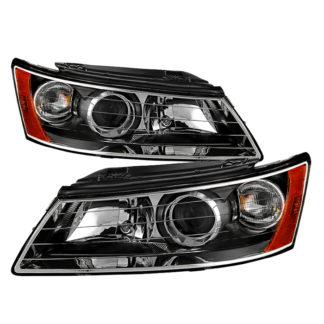 ( xTune ) Hyndai Sonata 2006-2008 OEM Style Headlights - Black