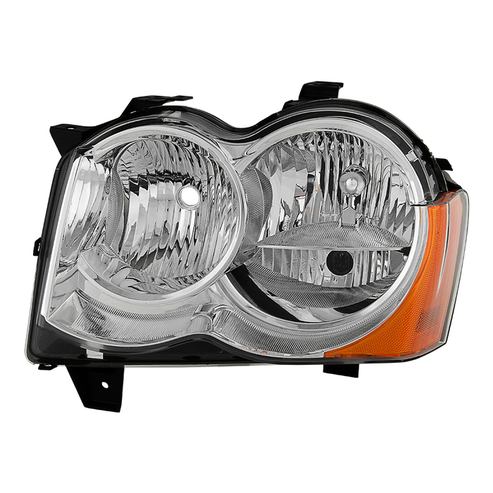 ( OE ) Jeep Grand Cherokee 08-10 Halogen Model Only ( Don't Fit HID Models )Driver Side Headlights -OEM Left