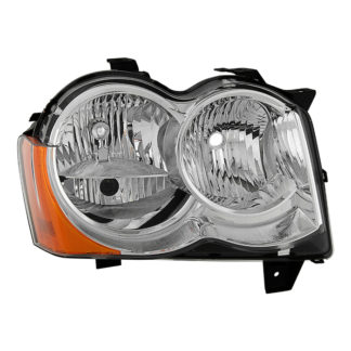 ( OE ) Jeep Grand Cherokee 08-10 Halogen Model Only ( Don't Fit HID Models ) Passenger Side Headlight -OEM Right