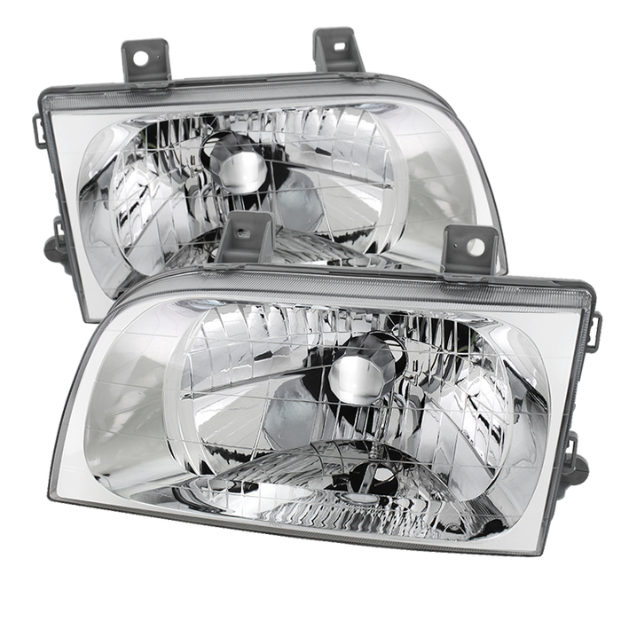 ( OE ) KIA Sportage 98-02 Crystal Headlights - Chrome