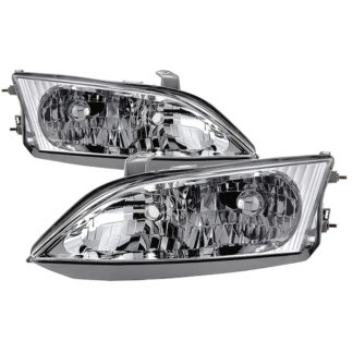 ( OE ) Lexus ES300 1997-2001 Halogen Models Only OEM Style Headlights - Chrome140