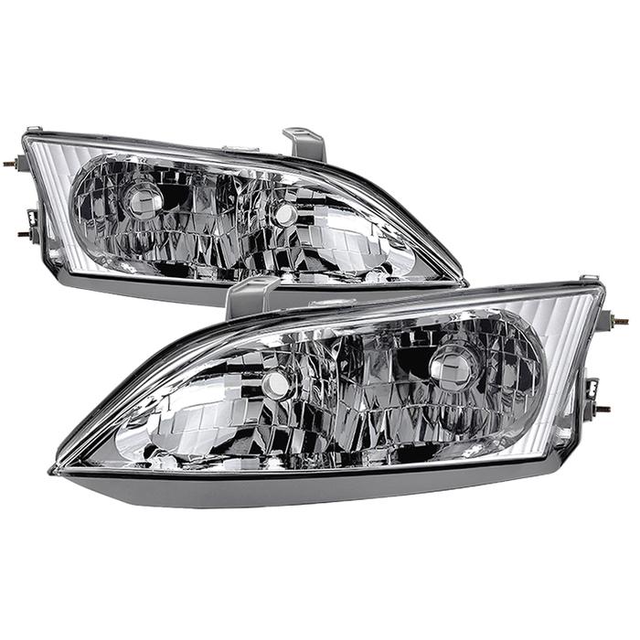 ( OE ) Lexus ES300 1997-2001 Halogen Models Only OEM Style Headlights - Chrome140