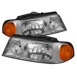 ( OE ) Lincoln Navigator 1998-2002 Crystal Headlights - Chrome