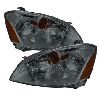 ( xTune ) Nissan Altima 02-04Crystal Headlights - Smoke