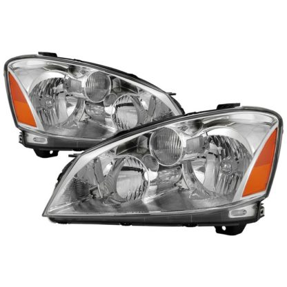( OE ) Nissan Altima 05-06 Halogen Model Only ( Does Not Fit HID Model ) OEM Style Headlights -Chrome