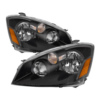( xTune ) Nissan Altima 05-06 HID Model Only ( Does Not Fit SE-R Model ) OEM Style Headlights – Black