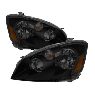 ( xTune ) Nissan Altima 05-06 HID Model Only ( Does Not Fit SE-R Model ) OEM Style Headlights - Black Smoked