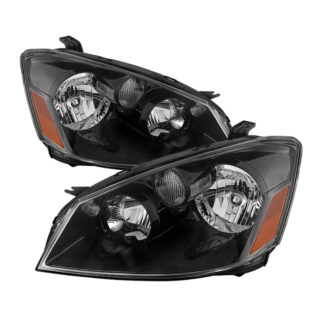 ( xTune ) Nissan Altima 05-06 Halogen Model Only ( Does Not Fit HID Model ) OEM Style Headlights - Black
