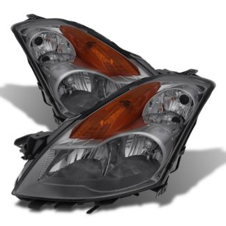 ( xTune ) Nissan Altima 07-09 Sedan Crystal Headlights - Halogen Model Only ( Not Compatible With Xenon/HID Model ) - Smoked