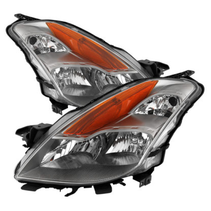 ( OE ) Nissan Altima Coupe 08-09 Halogen Only ( Does Not Fit HID Models ) OEM Headlights - Chrome