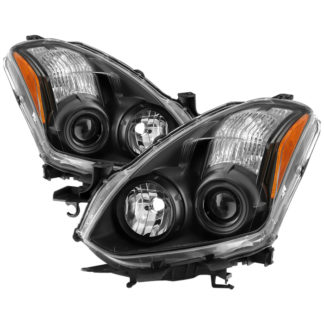 ( xTune ) Nissan Altima Coupe 2010-2013 Halogen Only ( Won't fit HID Models ) OEM Style Projector Headlights - Black