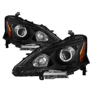 ( xTune ) Nissan Altima 13-15 4Dr OE Style Headlights – Black