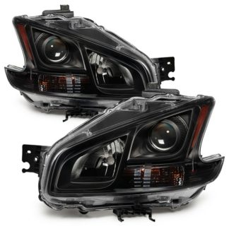 ( xTune ) Nissan Maxima 09-14 Halogen only ( Don't Fit HID Models ) OEM Style Headlights - Black