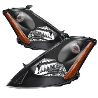 ( xTune ) Nissan Murano 03-07 (don't fit HID Model) Crystal Headlights – Black