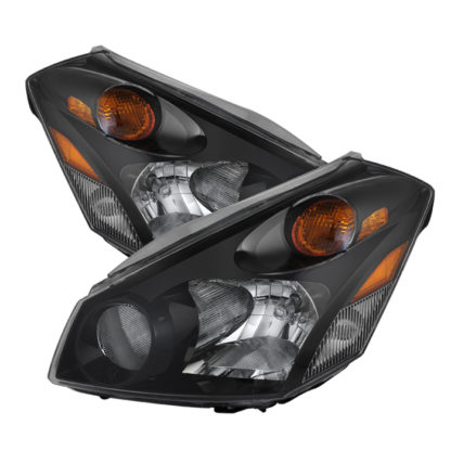 ( xTune ) Nissan Quest 04-09 Crystal Headlights - Black