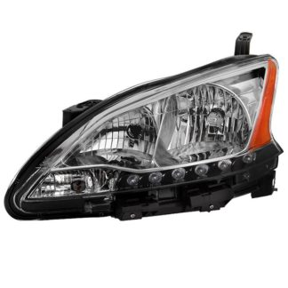 ( OE ) Nissan Sentra 2013-2015 Driver Side Headlight -OEM Left