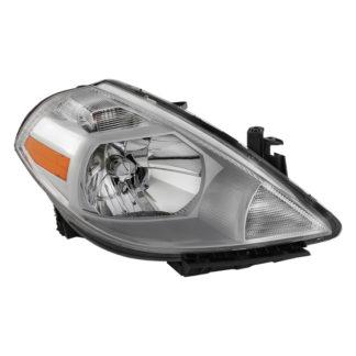 ( OE ) Nissan Versa 07-12 Passenger Side Headlight -OEM Right
