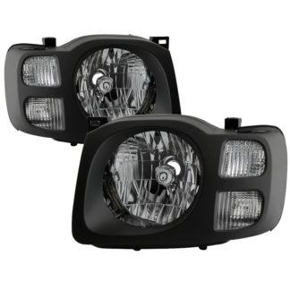 ( xTune ) Nissan Xterra 02-04 OEM Style Headlights - Black