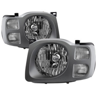 ( OE ) Nissan Xterra SE 02-04 OEM Style Headlights - Chrome