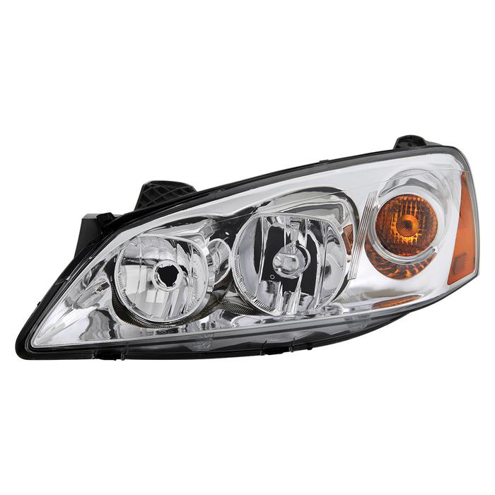( OE )Pontiac G6 05-10 (09-10 fit  w/Amber Turn Signal) Driver Side Headlights -OEM Left