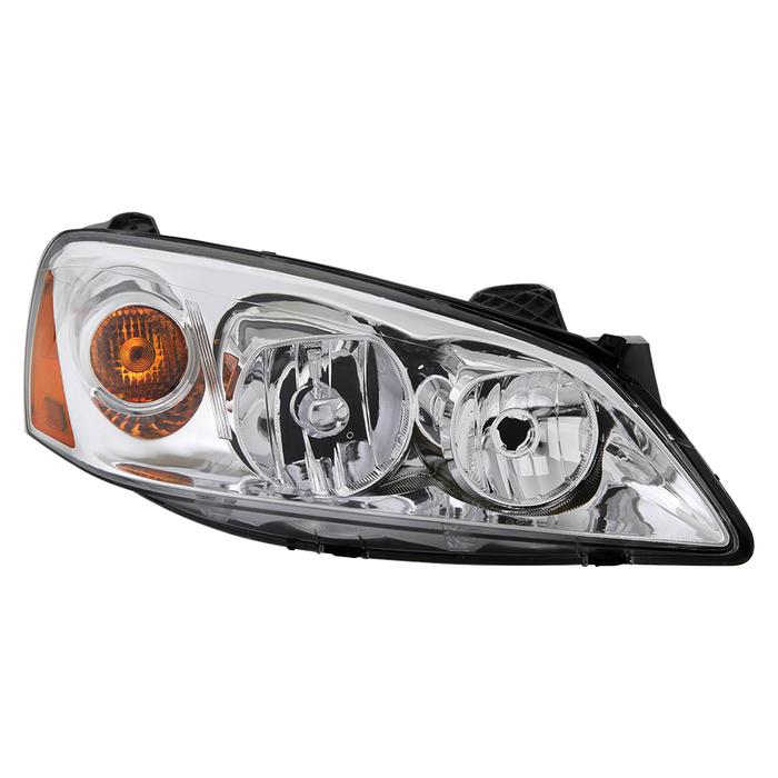 ( OE )Pontiac G6 05-10 (09-10 fit  w/Amber Turn Signal) Passenger Side Headlight -OEM Right