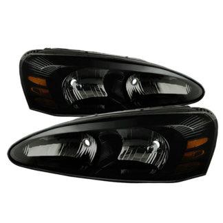 ( xTune ) Pontiac Grand Prix 04-08 Crystal Headlights - Black Smoke