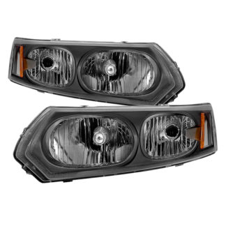 ( xTune ) Saturn ION Sedan only 03-07 ( Don't Fit Coupe ) OEM Style Headlights - Black
