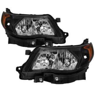( xTune ) Subaru Forester 2009-2013 Halogen Only ( Don't Fit HID models ) OEM Style Headlights - Black