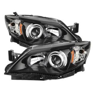 ( xTune ) Subaru Impreza WRX 08-14 / Outback Sport 08-11 Halogen Models Only (Bulbs Not Included) Headlights - Black