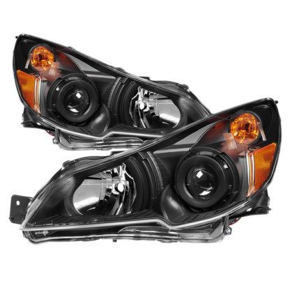 ( xTune ) Subaru Legacy 10-12 / Outback 10-12 OEM Style Headlights-Black