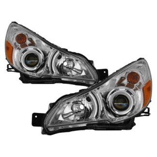 ( OE ) Subaru Legacy 10-12 / Outback 10-12 OEM Style Headlights - Chrome