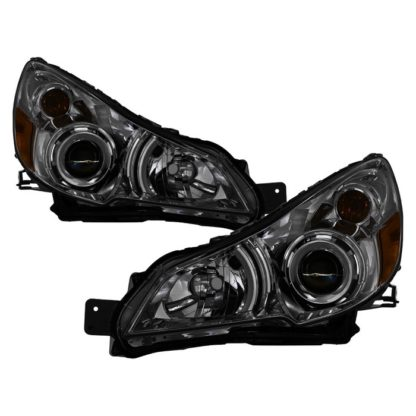 ( xTune ) Subaru Legacy 10-12 / Outback 10-12 OEM Style Headlights - Smoked