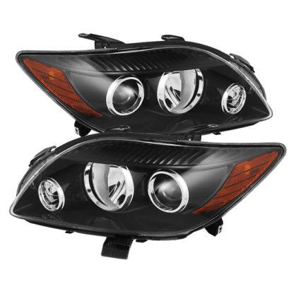 ( xTune ) Scion TC 08-10 Crystal Headlights - Black