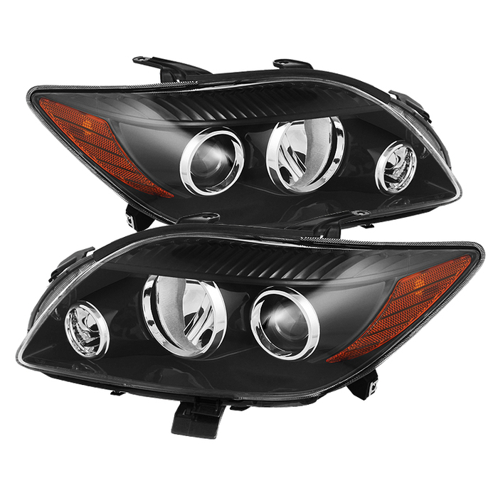 ( xTune ) Scion TC 08-10 Crystal Headlights - Black