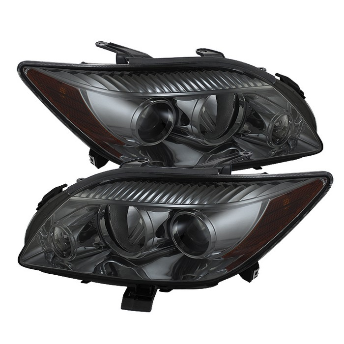 ( xTune ) Scion TC 08-10 Crystal Headlights - Smoke