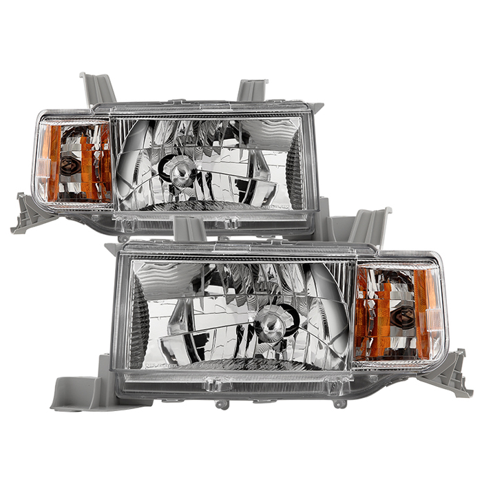 ( OE ) Scion xB 04-06 OEM Style Headlights - Chrome