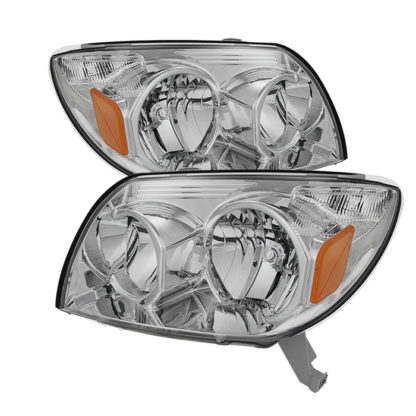 ( OE ) Toyota 4Runner 03-05 Crystal Headlights - Chrome
