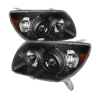 ( xTune ) Toyota 4Runner 06-09 Crystal Headlights - Black